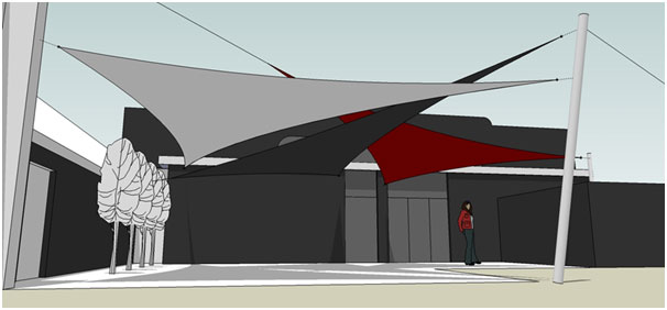 3D Design of multiple shades for Virgin Active